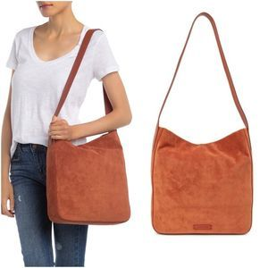 Lucky Brand Thorp Leather Shoulder Crossbody Bag